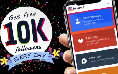 fansreal NO APP- Get 75k INSTAGRAM followers in 1 DAY for FREE